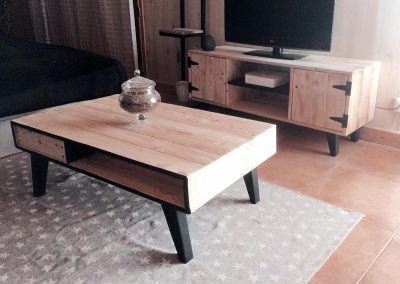 Meuble TV et table basse Scandi