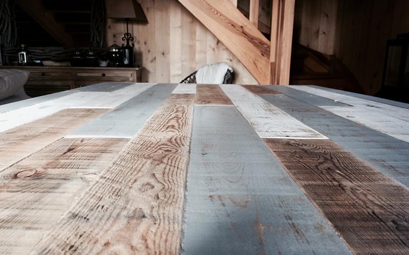 Mobilier sur mesure Table bois