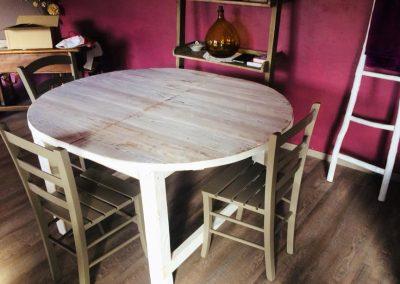 Table à dîner à rallonge Lubéron