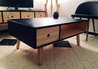 Table basse et meuble TV Jeanne