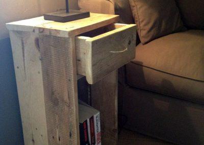 Table de chevet Mendia - Mobilier sur mesure en bois 1
