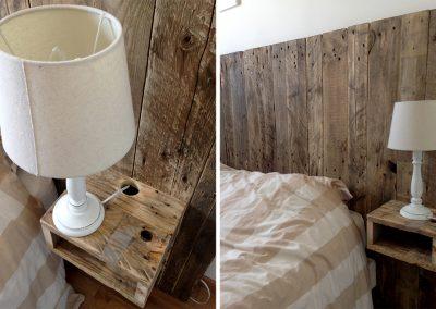 Tête de lit Hilo avec chevet intégré