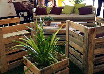 Aménagement stand expo salons professionnels - COL salon habitat biarritz