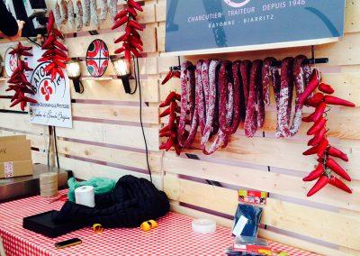 Aménagement stand expo salons professionnels - Charcuterie Aubard Foire au jambon