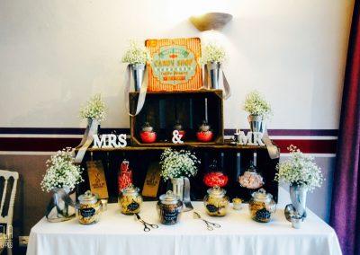 Un mariage au Pays basque... Décoration d'accueil