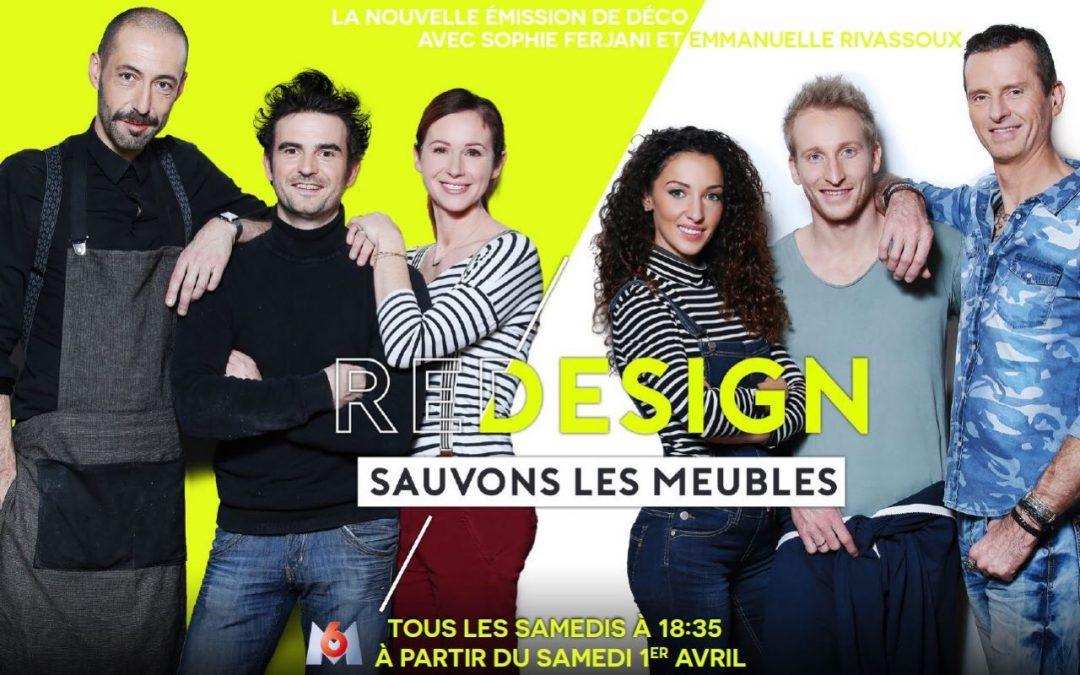 Designer pour l'émission Redesign sur M6 !