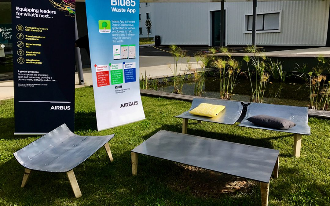 Projet upcycling Airbus