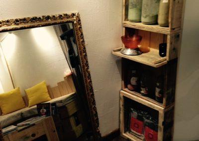 Meubles sur mesure et décoration bois personnalisée professionnels commerces - Mademoiselle L