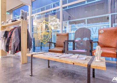Meubles sur mesure pour professionnels commerces magasins - Biarritz Ink