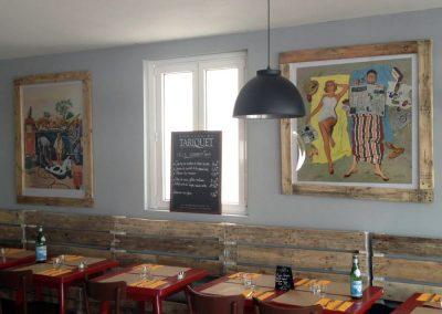 Meubles sur mesure professionnels Restaurants - Café de la Plage - Socoa