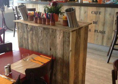 Le Café de la Plage à Socoa