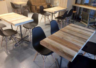 Partie restauration du magasin L'Eau vive à Bidart