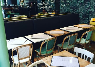 Meubles sur mesure professionnels Restaurants - La Promenade Paris