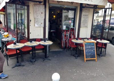 Meubles sur mesure professionnels Restaurants - Zigzag café Paris