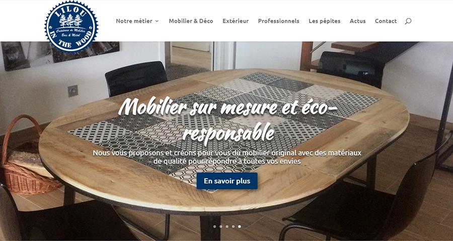 Lilou De La Palette lilou in the wood - création de mobilier sur mesure et décoration