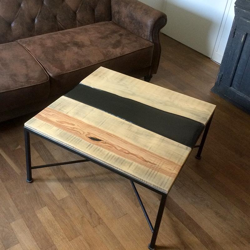 Table basse bois Vézuvia