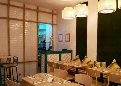 Meubles sur mesure professionnels Restaurants - Kinn Khao Thaï Street Food Paris