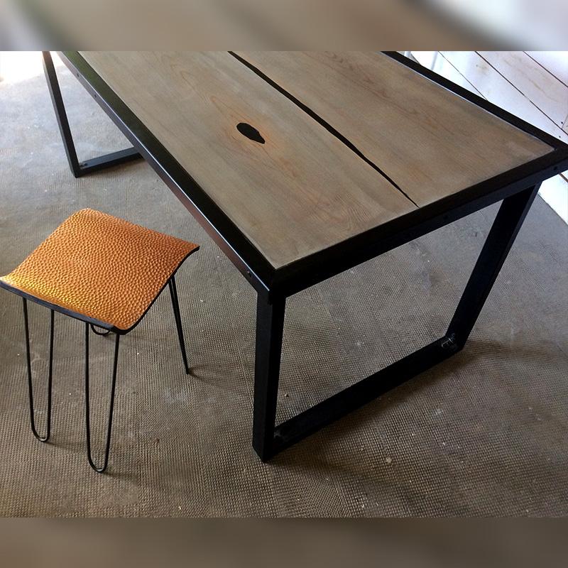 Table à dîner Melty - Création Bertrand Marc (pièce unique)