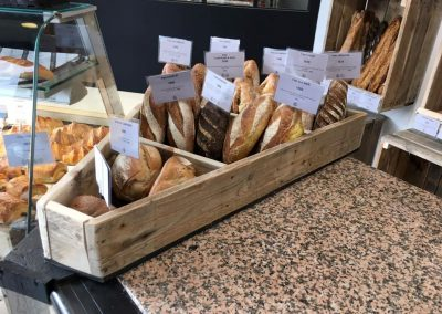 Meubles sur mesure pour professionnels commerces magasins - Grange à pains Urrugne