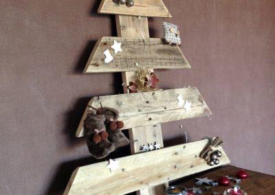 Sapin de Noël en bois