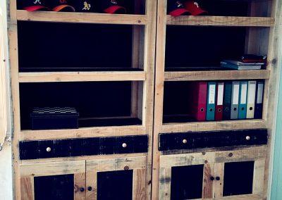Bibliothèque Augustine - Meuble en bois sur mesure