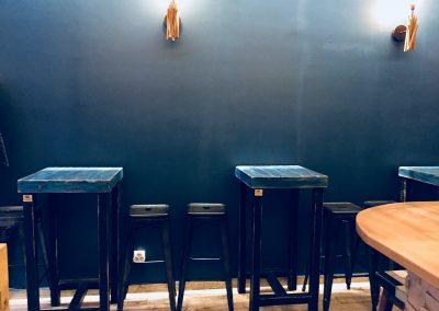 P'tit Cocoche à Paris - Tabourets et tables hautes
