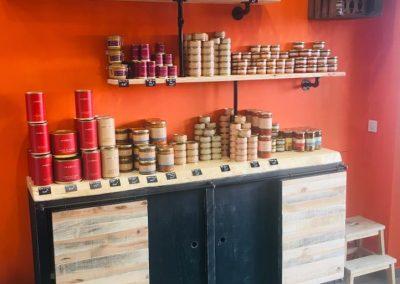 Meubles sur mesure professionnels Restaurants - Txantxangorriak buffet 1