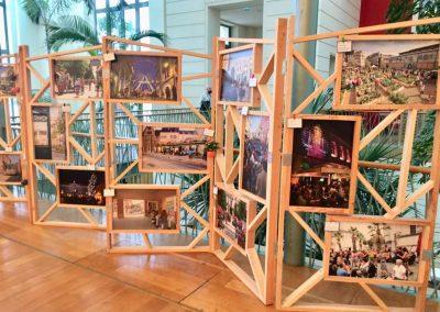 14èmes Assises nationales du centre ville au Centre de Congrès de Pau  - Paravents exposition de photos
