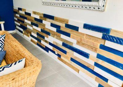 Coffrage de mur en bois 3D - Foc Immobilier à Bayonne