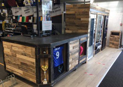 Meubles sur mesure pour professionnels commerces magasins - Decathlon Pau Lescar